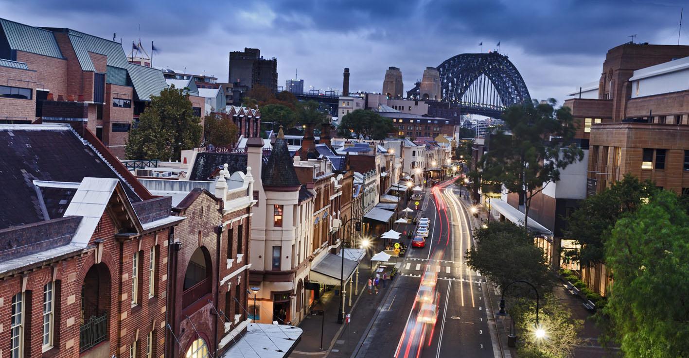 Сидней улицы города