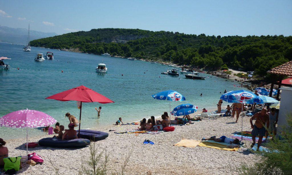 Пляж Трогир