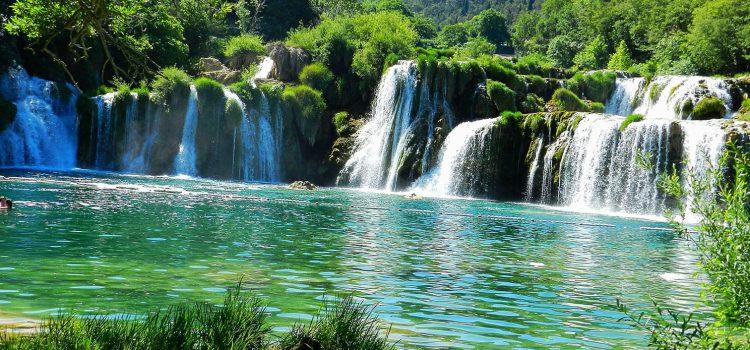 Водице водопады